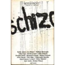 LOTRINGER, Sylvere [ed]: Semiotexte Volume III, No. 2, 1978: SCHIZO-CULTURE 1