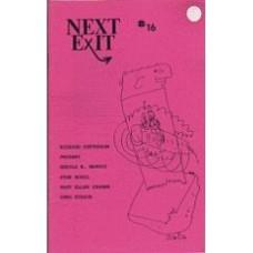 FOLSOM, Eric [ed]: Next Exit #16-18 [3 vols]