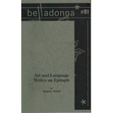 WELISH, Marjorie: Art and Language Writes an Epitaph