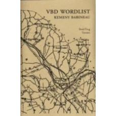 BABINEAU, Kemeny: VDB Wordlist