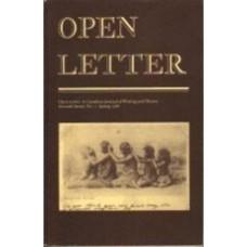 DAVEY, Frank [Ed]: OPEN LETTER 7:1. Spring 1988