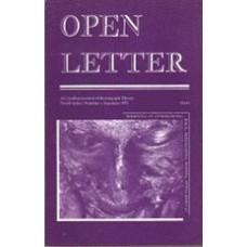 DORSCHT, Susan Rudy [Ed]: OPEN LETTER 9:3