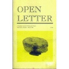 DERKSEN, Jeff [Ed]: OPEN LETTER 10:1. Disgust and Overdetermination: a Poetics Issue
