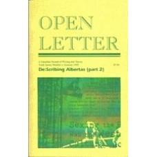 WILLIAMSON, Janice; QUIGLEY, Ellen [Eds]: OPEN LETTER 10:3. De:Scribing Albertas (part 2)