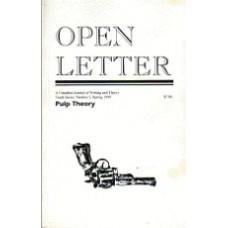 JAEGER, Peter; POUND, Scott [Eds]: OPEN LETTER 10:5. Pulp Theory