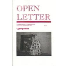 WERSHLER-HENRY, Darren [ed]: OPEN LETTER 10:9. Cyberpoetics