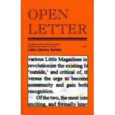 CAIN, Stephen [Ed]: OPEN LETTER 11:6. Little Literary Serials