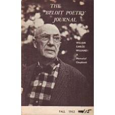 IGNATOW, David [ed]: The Beloit Poetry Journal Vol 14 No 1 Fall 1963: William Carlos Williams Memori