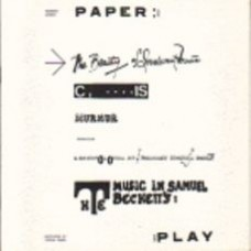 GABURO, Kenneth: Paper Play: The Beauty of Irrelevant Music