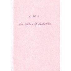 CLARK, Susan: AS LIT X: The Syntax of Adoration